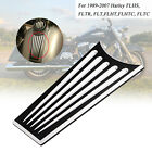 Motor Black Dash Insert Cover For Harley Electra Glide Ultra Classic EFI FLHTCUI