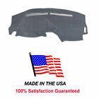 Gray Carpet Dash Mat Compatible with 1995 1997 GEO Metro Dash Cover Made in USA