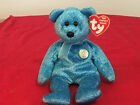 Rare retired, TY Beanie Baby - Classy Bear - 2001 - PE Pellets -The Peoples BB