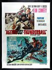 THUNDERBALL ✯ CineMasterpieces ITALIAN ORIGINAL JAMES BOND MOVIE POSTER 1980R