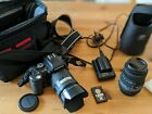 OLYMPUS E-500 digital SLR DSLR CAMERA with two lenses and more - bundle kit