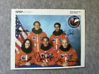 NASA CREW OF SPACE SHUTTLE MISSION STS 33 AUTOGRAPHED PHOTO 100 ORIGINAL
