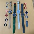 Lot of 4 Vintage Swatch Watches