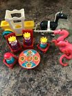 Vintage Fisher Price Little People Castle Royal Family and Dragon
