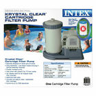 Intex 2500 GPH Above Ground Swimming Pool Cartridge Filter Pump System 28633EG