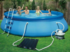 Intex Solar Mat Above Ground Swimming Pool Water Heater Black 28685E Fast Ship