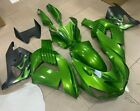 Injection Green Fairing Kit Fit for Kawasaki Ninja ZX14R 2006-2011 ZZR1400 p045