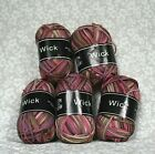 NWT Knit One Crochet Too Yarn 5 Skeins 53 Soy 47 Polyprop Color 467 Lot 1029