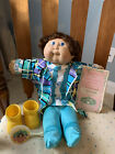 Cabbage Patch Cornsilk Kids doll with Birth Certificate brush outfit shoes