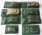 Russian Die cast Military Vehicle 1 x Armed Vehicle 7 X tanks