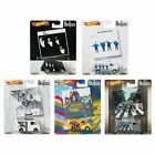 2019 Hot Wheels The Beatles Set of 5 Cars Pop Culture 1 64 Diecast Cars Vehicles