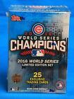 2016 TOPPS BASEBALL CUBS WORLD SERIES CHAMPIONS BOX - 25 Exclusive Cards per Box
