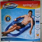 SwimWays Spring Float Recliner Swim Lounger Pool Lake Inflatable SHIPS TODAY