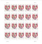 Quilled Paper Heart Scott 5036 Forever 2016 Postage Stamps Sheet of 20