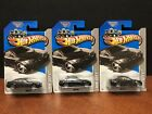 Hot Wheels 2013 BMW M3 Black Lot Of 3 Dela3349