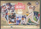 2016 Topps Archives 65th Anniversary Edition Sealed Box - 1 Auto - 16 Cards