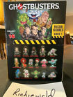 Factory sealed case of 24 GHOSTBUSTERS CRYPTOZOIC Blind bags with Display box