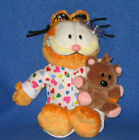 TY GOODNIGHT GARFIELD with POOKY the CAT BEANIE BABY - NEAR MINT TAG - SEE PICS