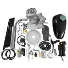 50cc 2 Stroke Cycle Bike Engine Motor Petrol Gas Kit for Motorized Bicycle Silve