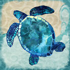 36x36 Sea Turtle by Jill Meyer Graphic Art on Wrapped Canvas