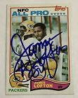 James Lofton Cards, Rookie Card and Autographed Memorabilia Guide 16