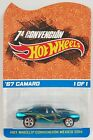 Hot Wheels 2014 Mexico Convention 67 Camaro Spectraflame Redline RealRiders 1 1