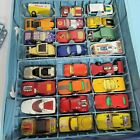 Vintage 1970s Lot of 44 Matchbox Diecast Cars w Sears Case All Well Used