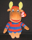 TY TYRONE the MOOSE BEANIE BABY (BACKYARDIGANS) - MINT with NEAR MINT TAGS -PICS