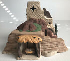 Department 56 LITTLE TOWN OF BETHLEHEM Inn 1987 Very Good Nativity Vintage