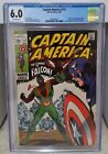 Captain America #117 (1969) CGC 6.0 - 1st Appearance of Falcon Marvel Comics KEY