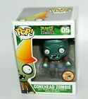 FUNKO POP PLANTS vs ZOMBIES CONEHEAD ZOMBIE SDCC EXCLUSIVE RARE POP GAMES PIECE