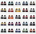 Fashion Embroidered Football Teams Logo Hat Sports Pom Warm Beanie Cap US Stock