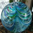 Hanging Glass Ball 8 Diameter Multi Color Swirl Friendship Ball 1 36