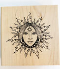 Stamp Oasis Fire Dreams Goddess Rubber Stamp Large New Stars World Celestial