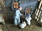 Avon Nativity Vintage Set Mary Joseph and Jesus in Stable Mint