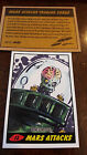 2014 TOPPS IDW LIMITED MARS ATTACKS REPRINT SKETCH TRADING CARD CHRIS UMINGA 12