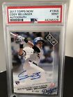 Cody Bellinger 2017 Topps Now Rookie RC on-card Autograph Auto #7 99 PSA 9 Mint