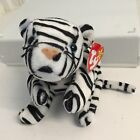 Original Ty Beanie Babies ~BLIZZARD the WHITE TIGER wild cat new with tags