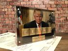 DONALD TRUMP BY JEFFERSON WASHINGTON LINCOLN ADAMS HANCOCK SIGNED JSA PSA GIFT