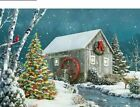 Full Square Round Drill 5D DIY Diamond Painting Christmas Snow House 3D Decors