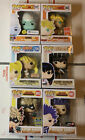 Funko Pop Anime Bundle of 6 Lot Exclusives Naruto MHA DBZ Whis Bakugo Broly