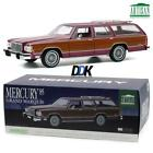 GREENLIGHT 19093 1985 Mercury GrandMarquis Colony Park Burgundy Diecast Car 118