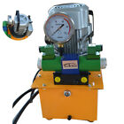 110V Electric Driven Hydraulic Pump 10000 PSI DBD750 DS2 Double Acting