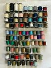VINTAGE LOT OF 88 SPOOLS OF MOLNLYCKE SEWING POLYESTER THREAD