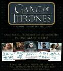 2020 Rittenhouse Game of Thrones The Complete Series Trading Cards Box New 10 16