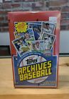 2017 Topps Archives Baseball Hobby Box (24 Packs) 2 Autographs Per; Judge PSA?