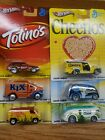 2013 Hot Wheels Pop Culture Set of 6 General Mills Series Super Van Chevy Ford