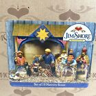 Jim Shore Designs 2004 Heartwood Creek 10 Piece Mini Nativity Figurine Set XMas