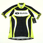 Sugoi RS Team Cycling Short Sleeve Jersey Cannondale Green Black White X Small