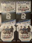 2020 Topps Chrome Sapphire Edition & Ben Baller Hobby 4 Box Lot. Two of Each!